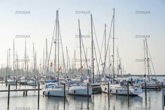 Marina in Heiligenhafen
