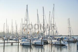 Yachthafen in Heiligenhafen