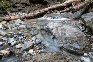 Bodies of water, small creek with rocks