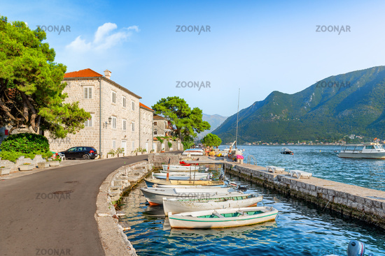 Bay of Kotor in summer