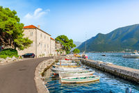 Bay of Kotor in summer