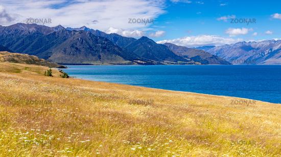 lake Wanaka; New Zealand south island