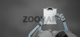 Writing Humanoid Robot Clipboard