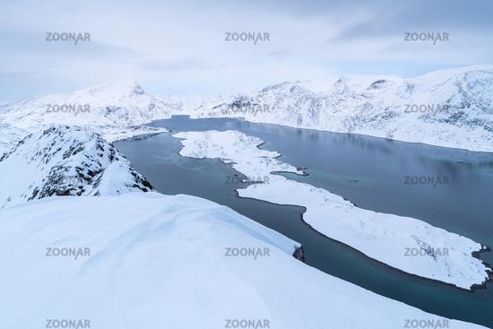 Hasfjord, Soeroeya Island, Finnmark, Norway