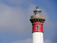 lighthouse in Ouistreham
