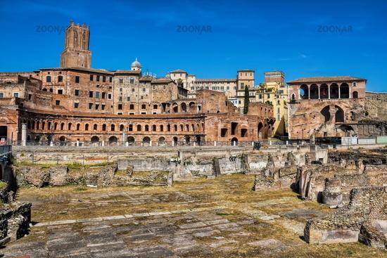 Rome, Trajan market