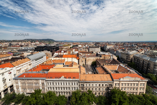 Budapest City From Above