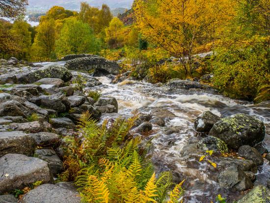 Autumn at Ashness Bridge