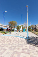 Bolivia Uyuni Aniceto Arce square