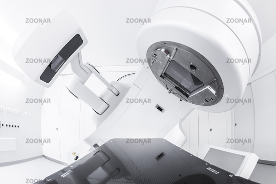 Cancer therapy, advanced medical linear accelerator in the therapeutic oncology