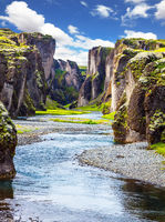 Canyon Icelandic fairy tales