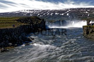 Iceland - Goðafoss - Godafoss.