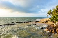 Ilhabela Island paradisiac beach