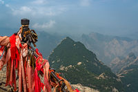 Stunning view from the West Peak in Huashan mountain