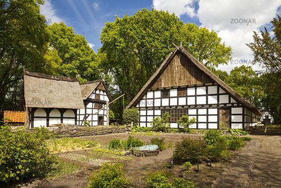 Museums Hof, Farmers Homestead, Open Air Museum, Rhaden, North Rhine-Westphalia, Germany, Europe