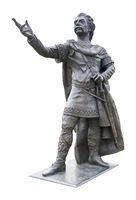 Statue of king Ethelbert Canterbury Kent