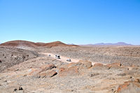 View of the Kuiseb Pass in Namibia