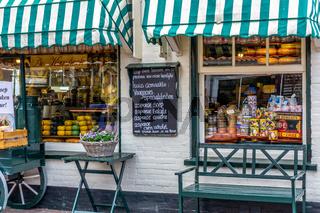 Laden für Delikatessen in Holland