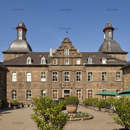 Hugenpoet castle, Essen, Ruhr area, North Rhine-Westphalia, Germany, Europe
