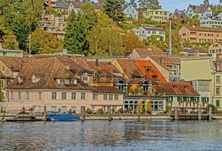 Schaffhausen am Hochrhein, Schweiz