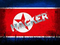 Hack Means North Korean Attack 3d Illustration