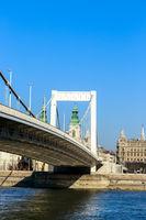 Elisabeth Bridge  of Budapest, Hungary