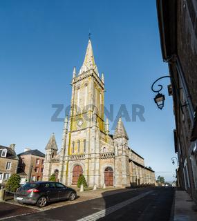 Church in Le Teilleul, France