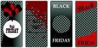 Cover template design black friday modern style on background for decoration of presentation, brochure, catalog, poster, book, magazine, etc. Vector illustration
