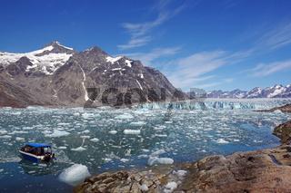 Der Knud Rasmussen Gletscher