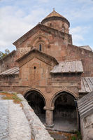 Main temple of Sapara Monastery is church of St. Saba built in the 13th century