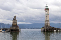 Lighthouse 002. Lindau