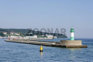 Leuchtturm im Sassnitzer Hafen
