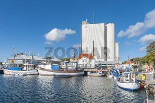 Fischereihafen in Burgstaaken