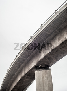 Abstract Highway Overpass