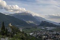 Burg von Arco in Trentino Italien