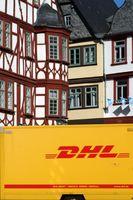 DHL parcel service Old Town Limburg