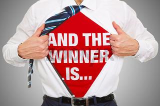 And the winner is Konzept mit Slogan auf Shirt