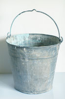 Empty Metal Bucket