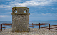 Old tower in Nessebar, Bulgaria