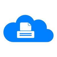 Drucker und Wolke - Printer and cloud