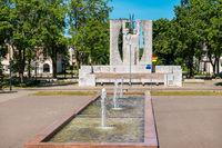Kohtla-Jarve cityscape. Estonia, EU