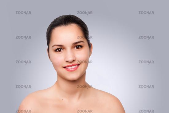 Happy aesthetics Beauty Portrait