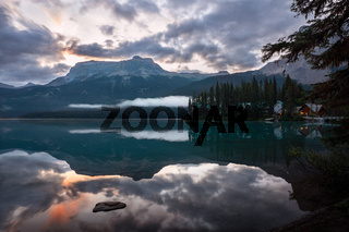 Emerald lake, Yoho National Park, British Columbia, Canada, Canada