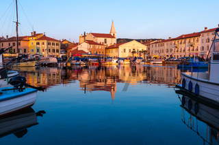 Beautiful Slovenian coast city Izola