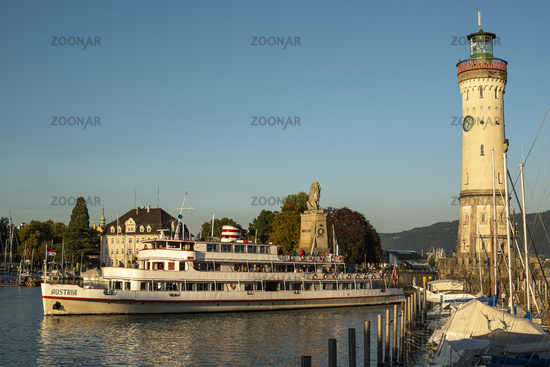 Harbor entrance Lindau   Lake Constance