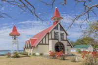CHURCH, NOTRE DAME AUXILIATRICE DE CAP MALHEUREUX, MAURITIUS