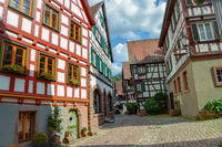 Schiltach small town in the Black Forest