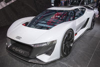Electric Audi sports car at the IAA