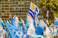 Political Act Celebration, Montevideo, Uruguay
