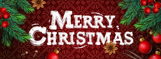 Merry Christmas. Christmas poster, greeting card, header, website, vector illustration.